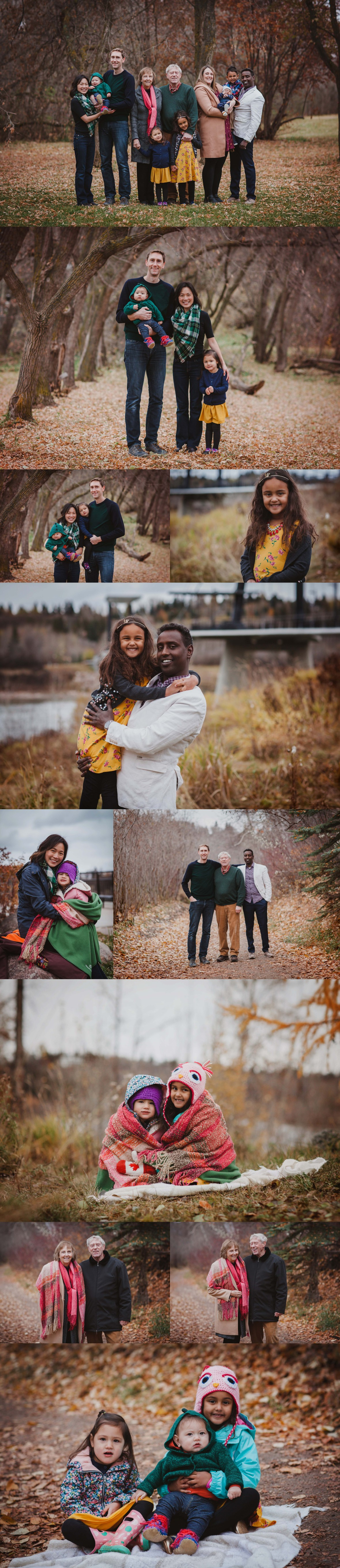 family photography Edmonton YEG river valley Fort Edmonton photographer